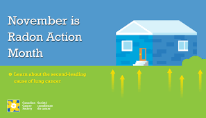 November is Radon Action Month