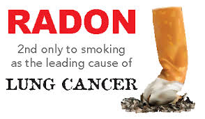 RADON 2nd only to smoking as the leading cause of lung cancer