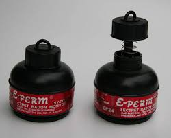 e-perm radon test kit